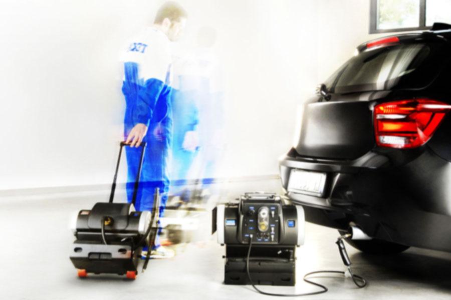 analizador de gases automotriz