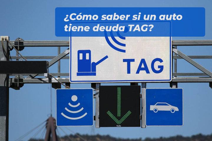 Cómo saber si un auto tiene deuda TAG